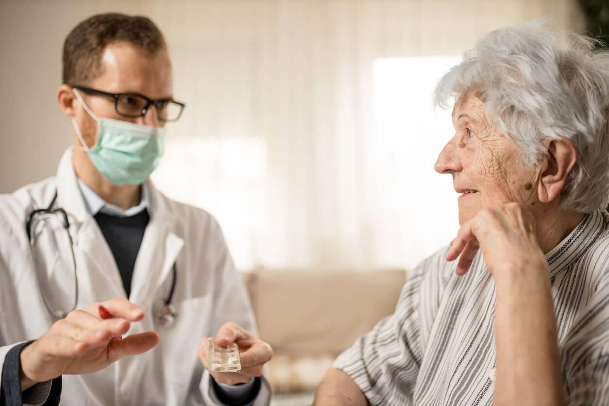 Cuidados de pacientes durante o Coronavírus